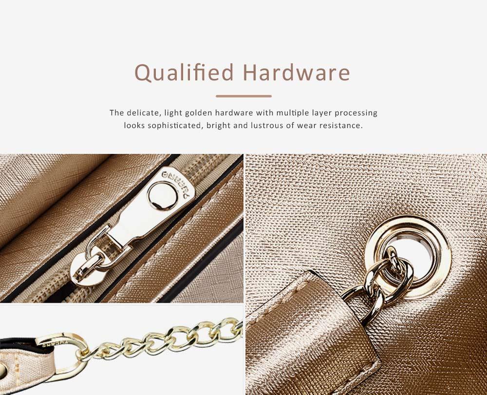 TUCANO Chain Bag for Women, Fashionable Square Messenger Bag for Women Spring Summer, Single-shoulder Bag 6