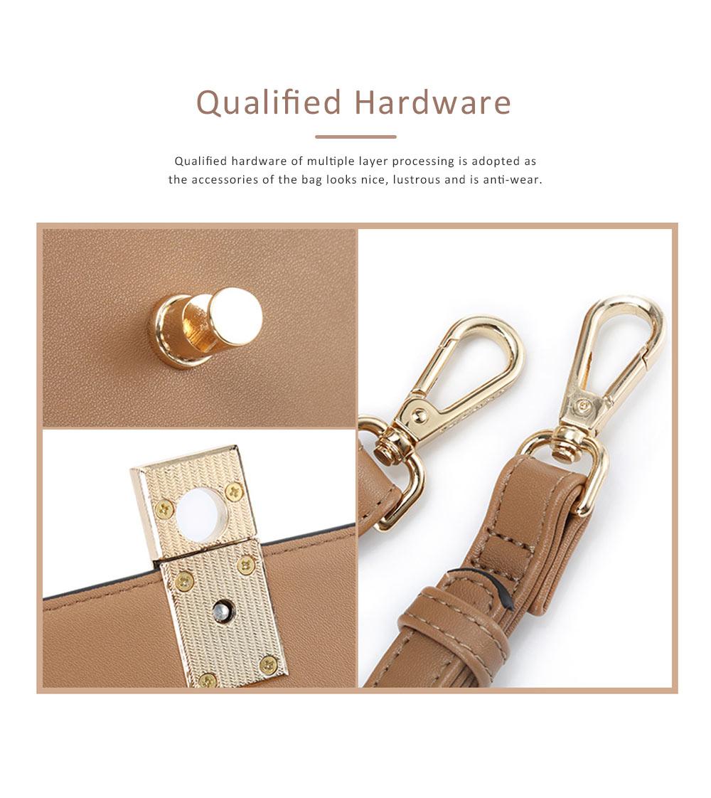 TUCANO New Style Handbag for Women, Fashionable Square Messenger Bag for Women Single-shoulder Bag 8