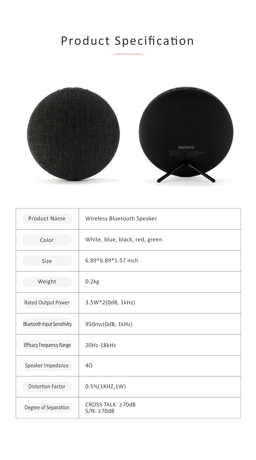 Bluetooth Wireless Speakers, Portable Befree Sound Bluetooth Speaker Compatable for Phones, Tablets, Laptops, Surround Sound Bluetooth Speakers 7