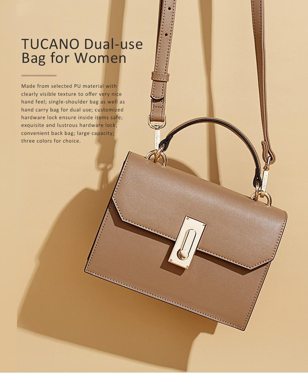 TUCANO New Style Handbag for Women, Fashionable Square Messenger Bag for Women Single-shoulder Bag 0