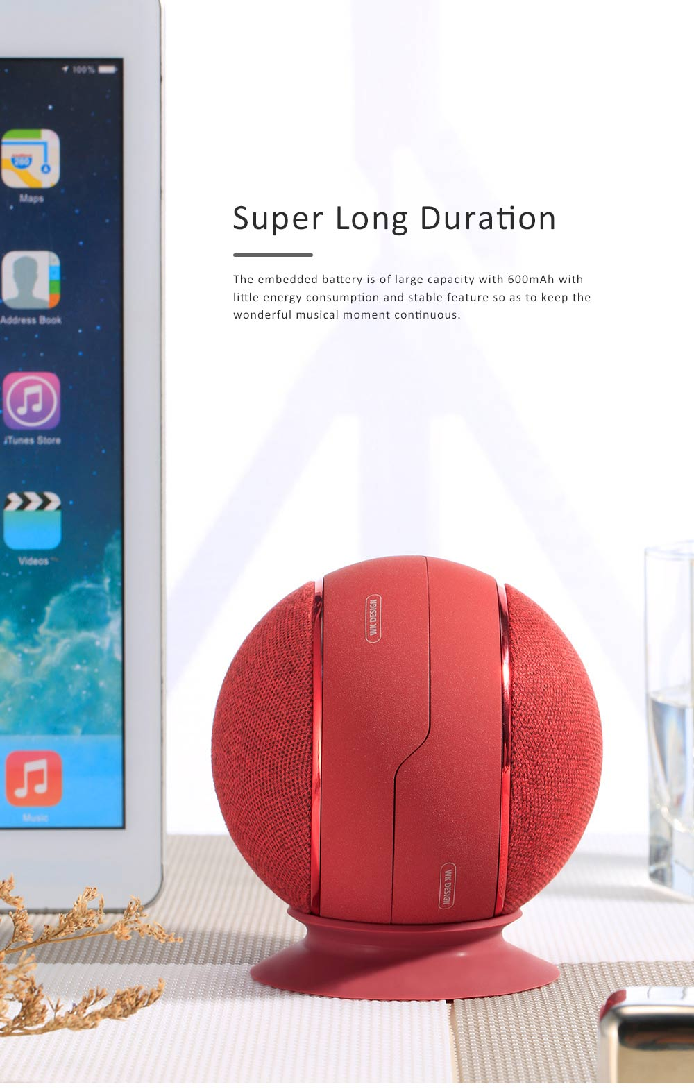 Wireless Bluetooth Speaker SP500 Palm Theater Speaker for Outdoor Use New Style Bluetooth Dual Speaker 3D Surround Stereo Sound Portable Speaker 1