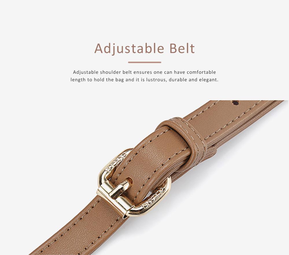 TUCANO New Style Handbag for Women, Fashionable Square Messenger Bag for Women Single-shoulder Bag 9