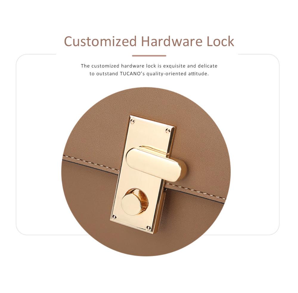 TUCANO New Style Handbag for Women, Fashionable Square Messenger Bag for Women Single-shoulder Bag 2