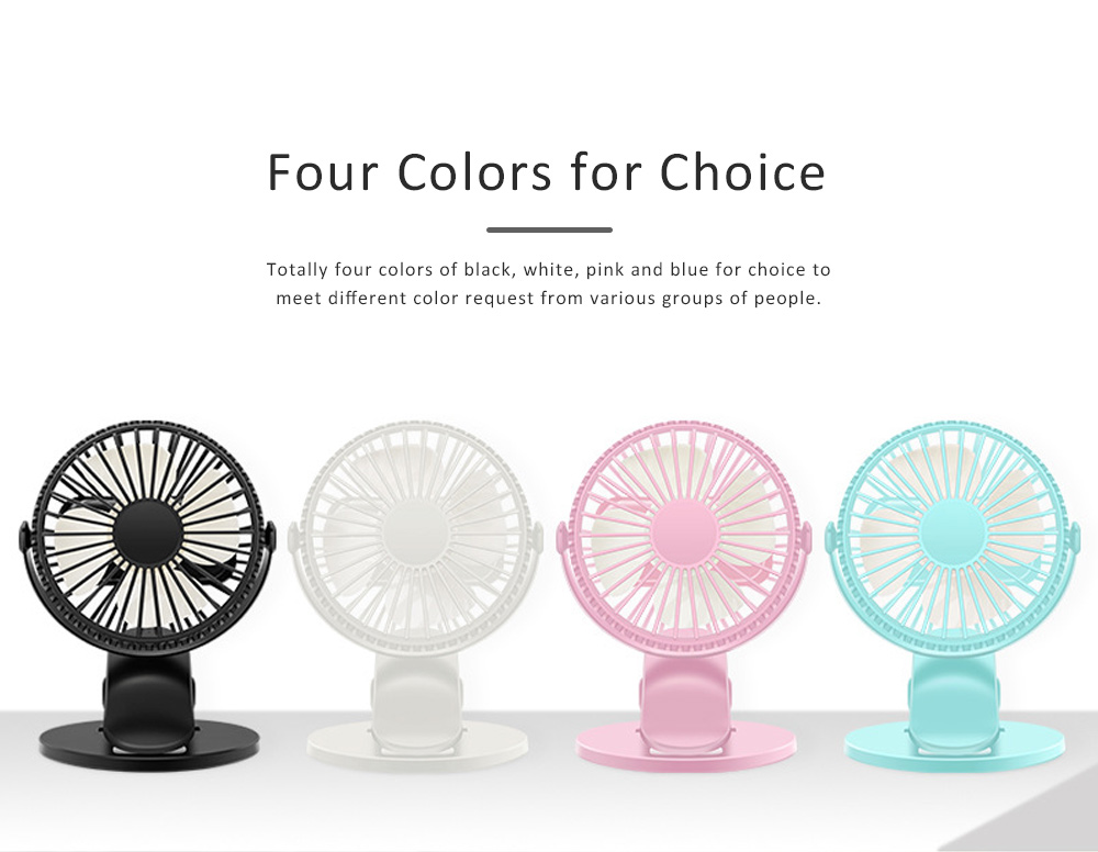 Vehicle-mounted Mini Fan,  Mini Fan USB with Durable Clip Cool Mini Fan for Summer Home, Car, Office 5