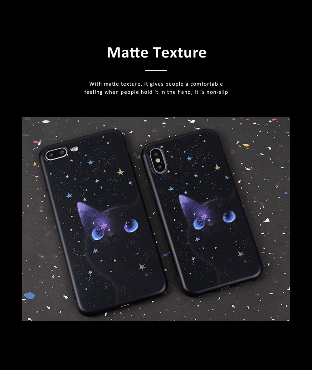 Star Cat IMD Apple XSMAX All-inclusive TPU Soft Shell Phone Cover for IPhoneX8plus7 Mobile Phone Shell 4