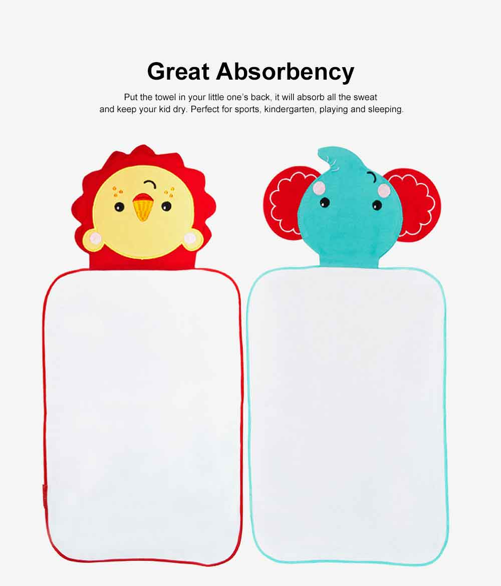 Baby Sweat Towel Pure Cotton Pad Slings Sweet Towel for 0-6 Years Old Children's& Kindergarten Baby 1