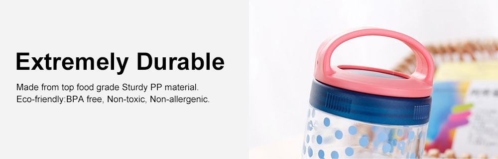Medicine Storage Box Fashion Portable Environmentally Friendly Non-toxic PP Box for  Drug Storage Box 5