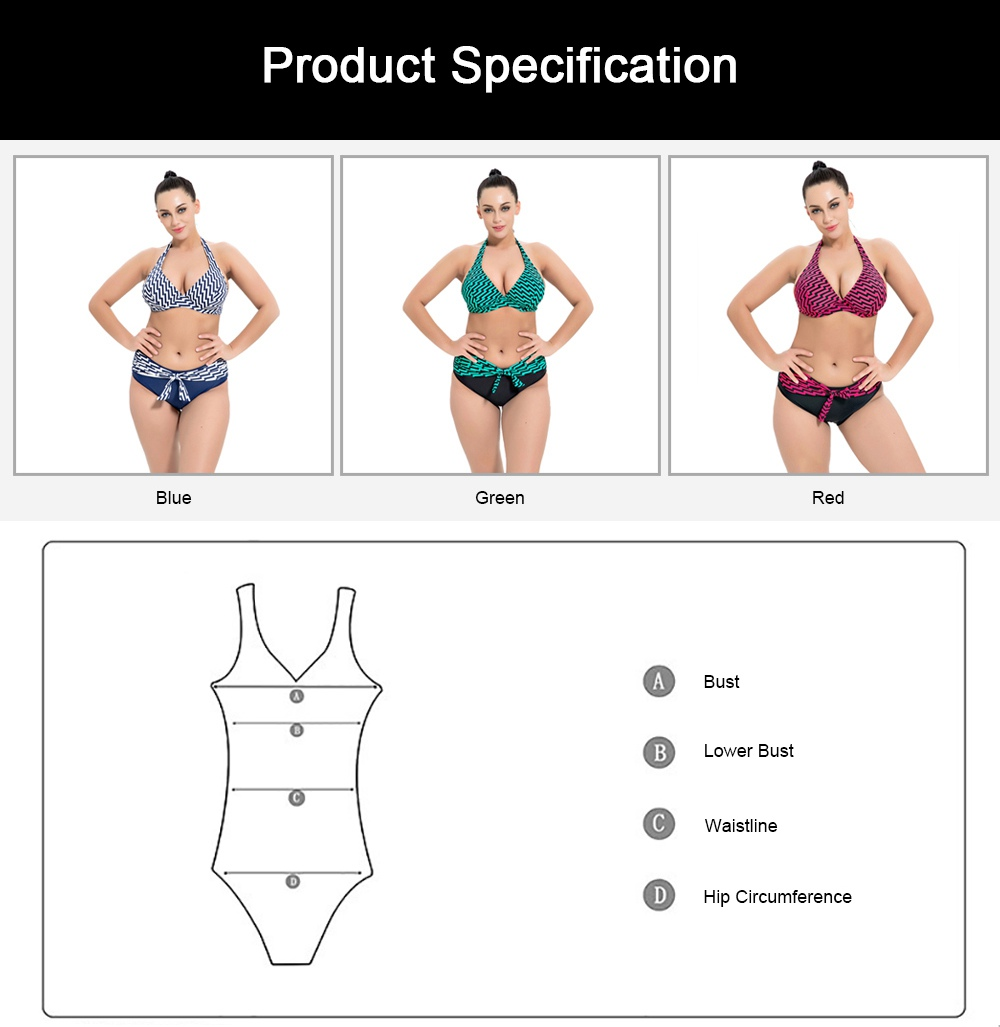 2019 Sexy Swimwear for Women Large Size Split Swimsuit Two-Piece Bikini Sets Beach Swimwear Bathing Suits for Girl 7