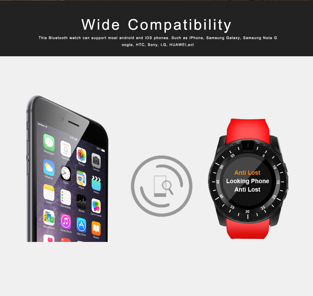 Bluetooth Smartwatch with HD Display, Wide Compatibility Power Watch with Camera, Sports Fitness Tracker, Music Player, Image Viewer 1