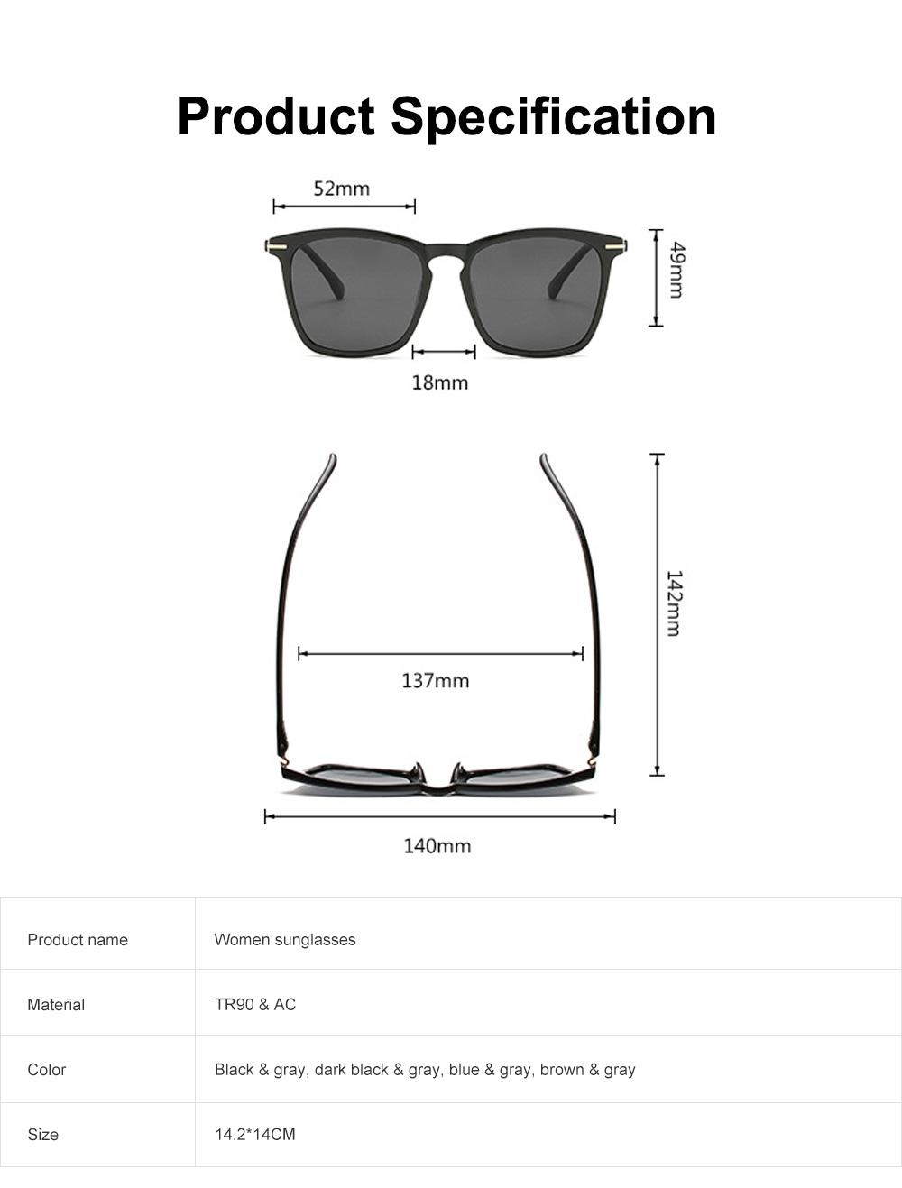Retro Polarized Sunglasses Vintage Style with UV400 Protection & Anti-Glare Lens for Women 6