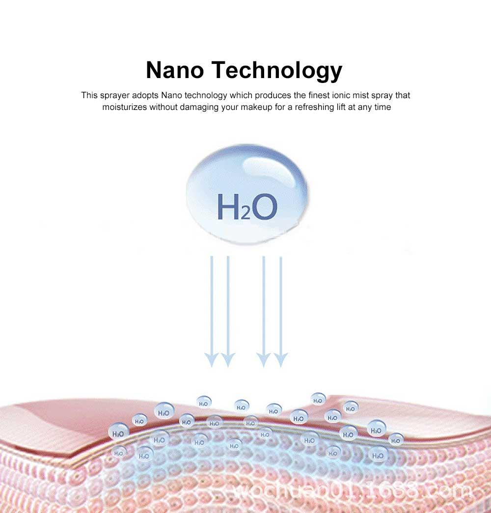 Nano Mist Sprayer Portable Mist Facial Sprayer USB Rechargeable Mini Beauty Skin Care Instrument 3