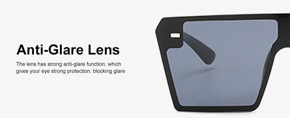 Frameless Unisex Sunglasses Gradient Colors Anti-Glare Lens with Comfortable Nose Pad UV Protection Sunglasses 6