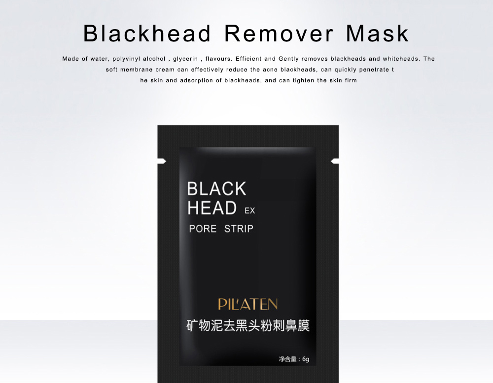 Blackhead Remover Mask Mineral Mud Blackhead Pore Cleansing Nasal Membranes For Nose Acne 0