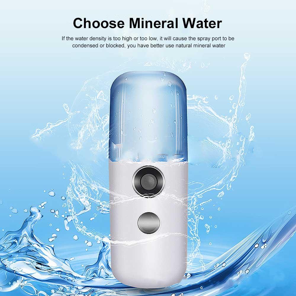 Nano Mist Sprayer Portable Mist Facial Sprayer USB Rechargeable Mini Beauty Skin Care Instrument 4