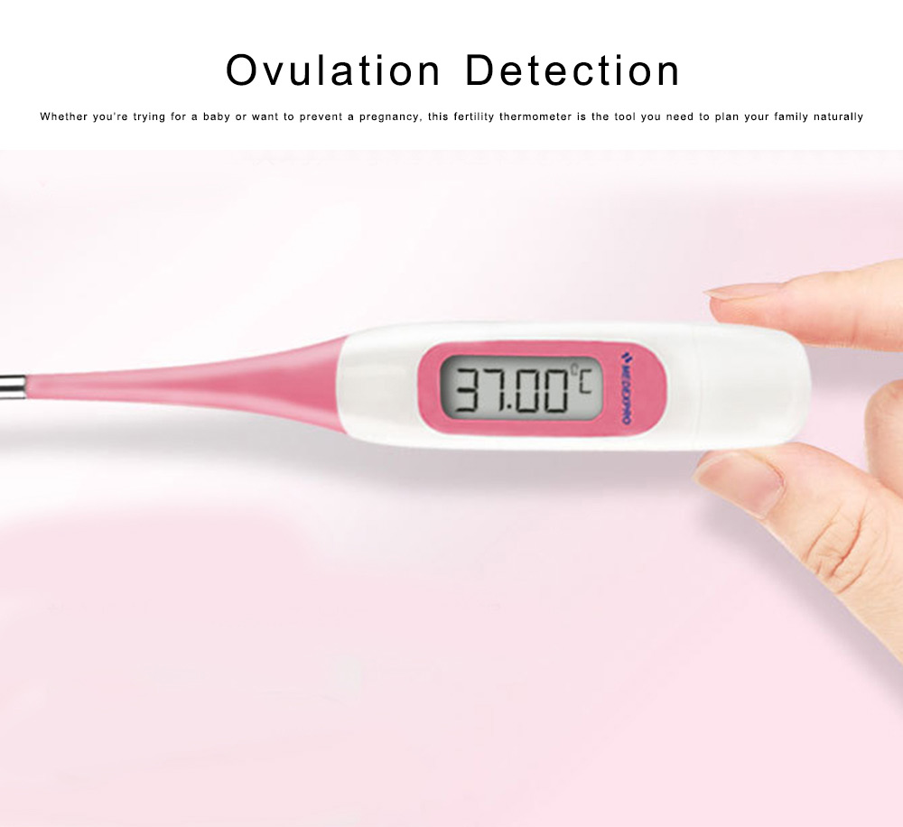 Digital Thermometer for Fertility Monitoring Flexible Accurate Ovulation Tracking Thermometer for Natural Family Planning 4