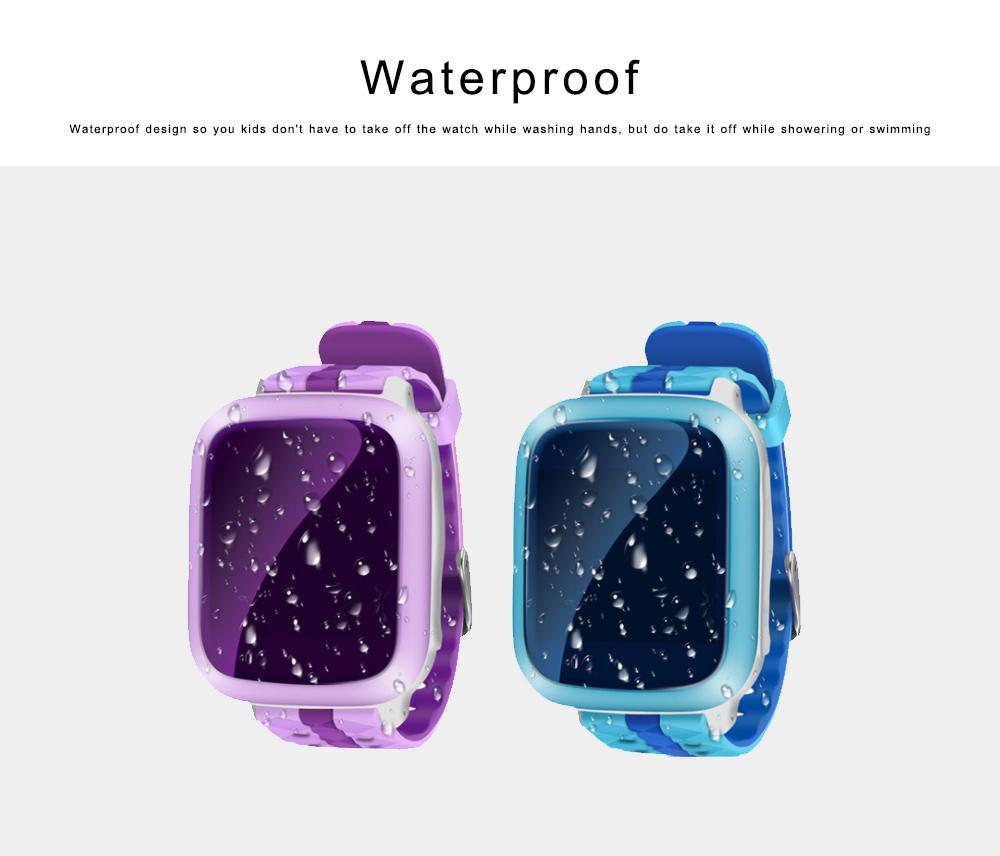 Children Teens Smart Watch, Waterproof GPS Smartwatch Phone with Phone Call, SOS, Remote Monitoring, Pedometer 4