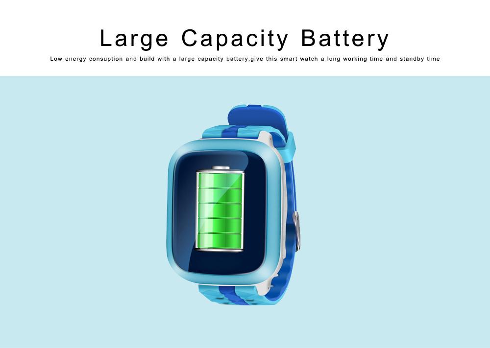 Children Teens Smart Watch, Waterproof GPS Smartwatch Phone with Phone Call, SOS, Remote Monitoring, Pedometer 1