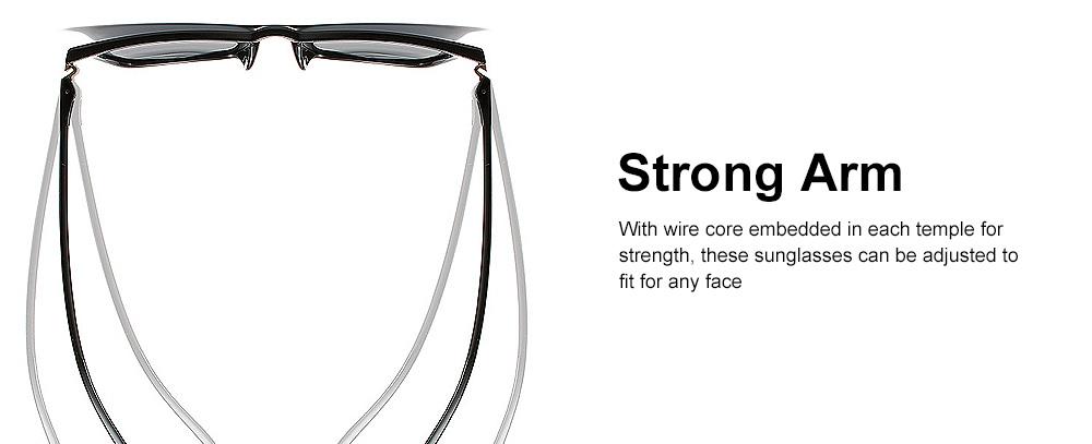 Retro Polarized Sunglasses Vintage Style with UV400 Protection & Anti-Glare Lens for Women 4