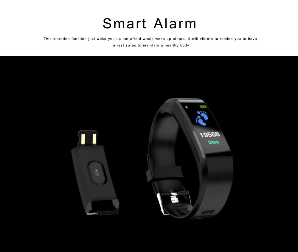 Bluetooth Smart Sports Bracelet, Waterproof Smart Activity Tracker Smartwatch Wristband for Men Women 2