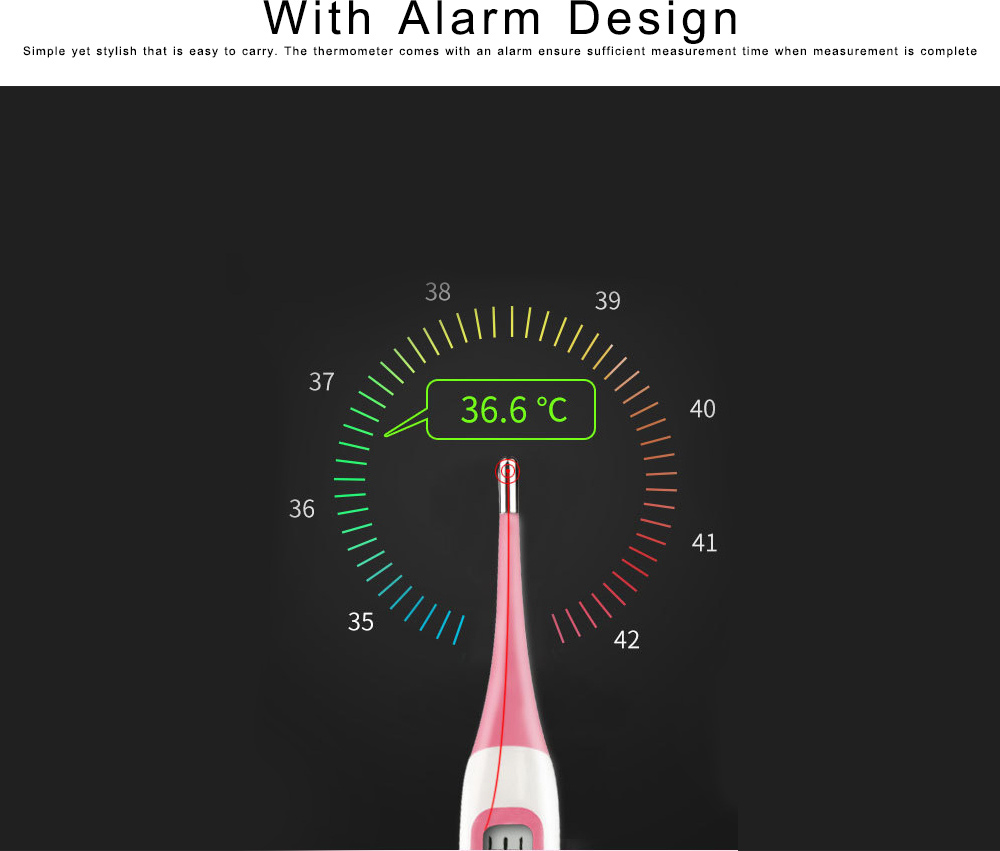 Digital Thermometer for Fertility Monitoring Flexible Accurate Ovulation Tracking Thermometer for Natural Family Planning 1