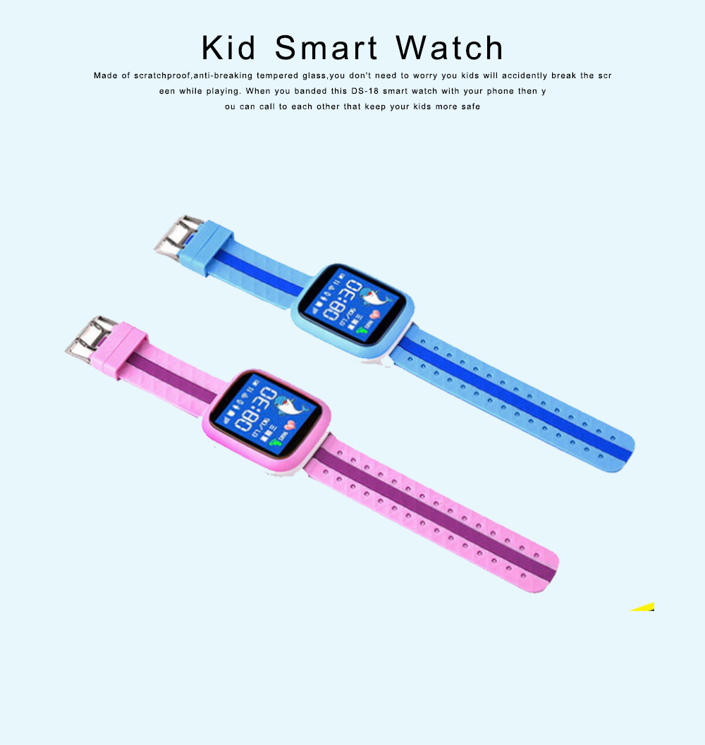 Children Teens Smart Watch, Waterproof GPS Smartwatch Phone with Phone Call, SOS, Remote Monitoring, Pedometer 0