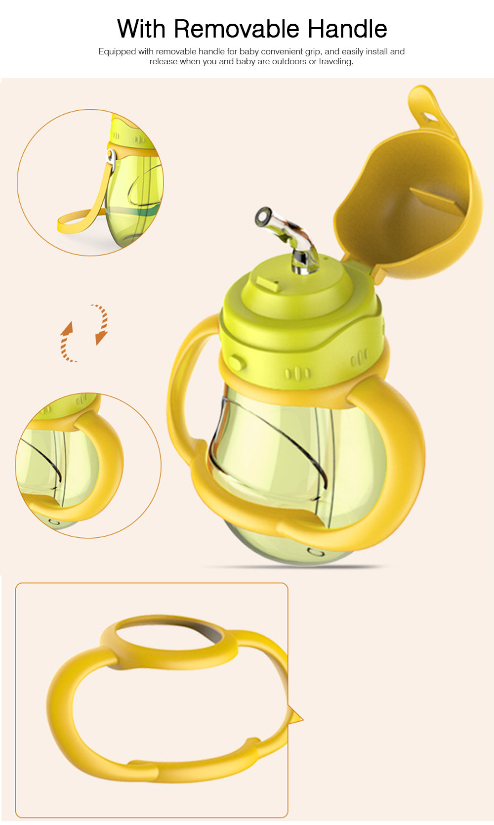 Family Kettle Set for Outdoors Traveling, 2PCS Family Bottle Set include Baby Water Bottle with Nipple, Adult Water Bottle, Water Bottle Set 2PCS 4