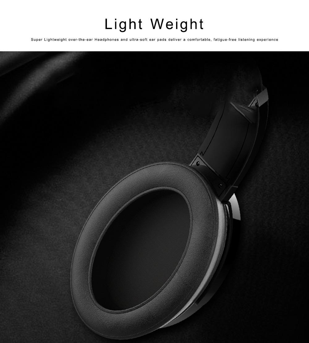 Bluetooth 4.2 Sport Headset Over Ear Headphones Lightweight Stereo Wireless Headphones earphone with 30-60m Transmission Range 3