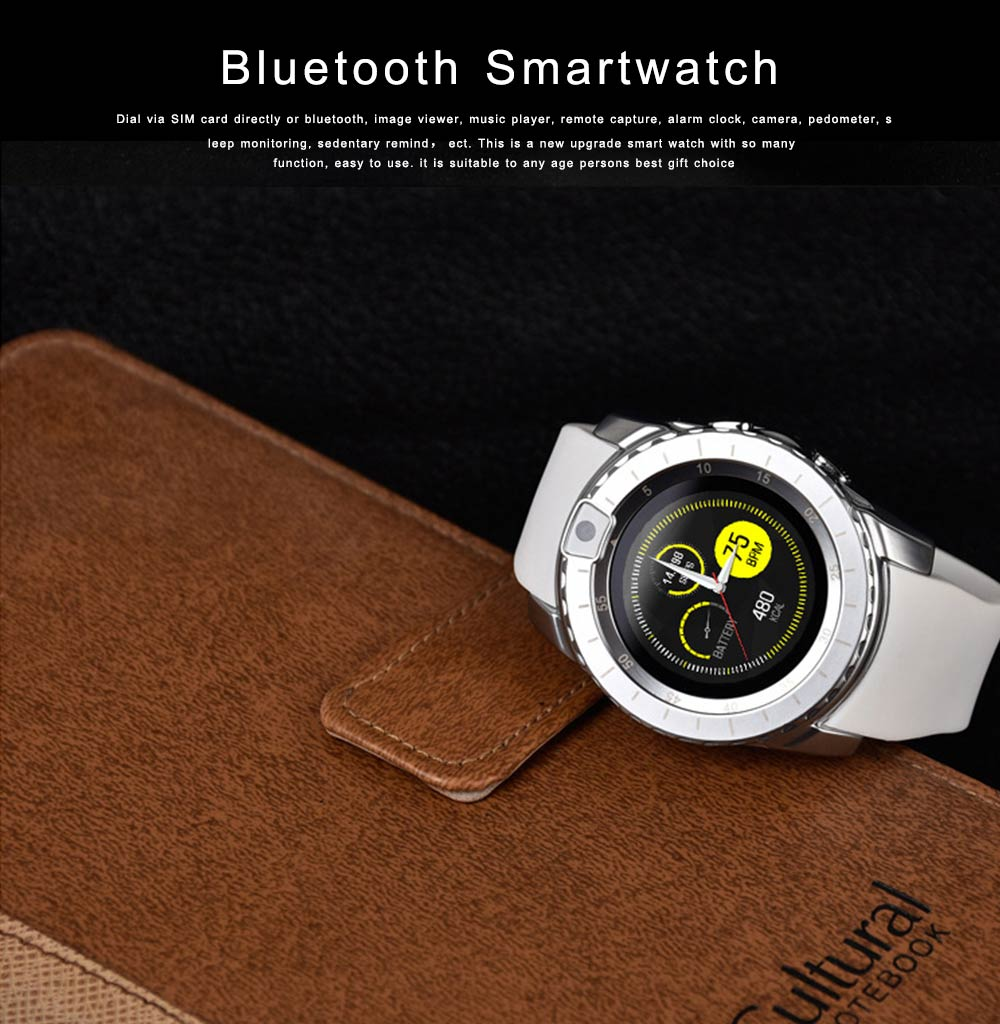 Bluetooth Smartwatch with HD Display, Wide Compatibility Power Watch with Camera, Sports Fitness Tracker, Music Player, Image Viewer 0
