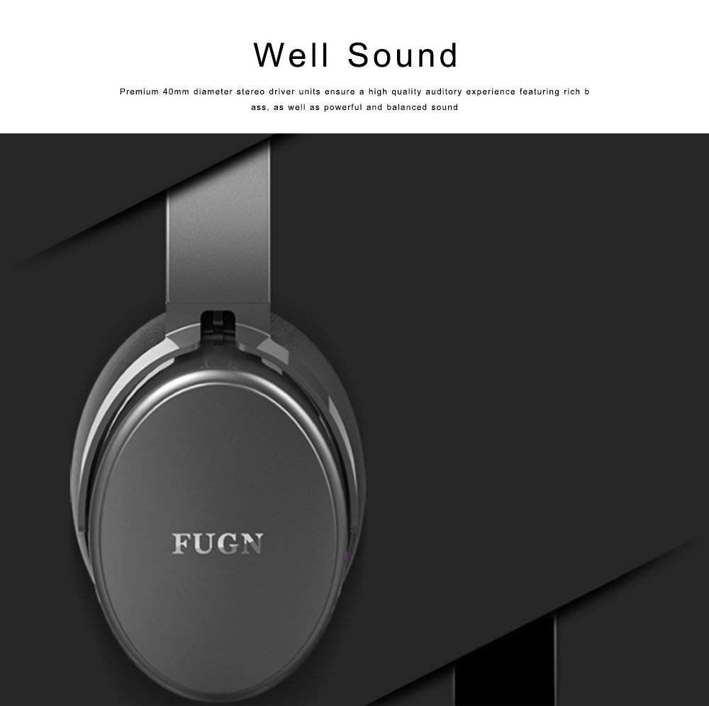 Bluetooth 4.2 Sport Headset Over Ear Headphones Lightweight Stereo Wireless Headphones earphone with 30-60m Transmission Range 2