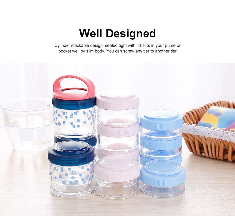 Medicine Storage Box Fashion Portable Environmentally Friendly Non-toxic PP Box for  Drug Storage Box 3