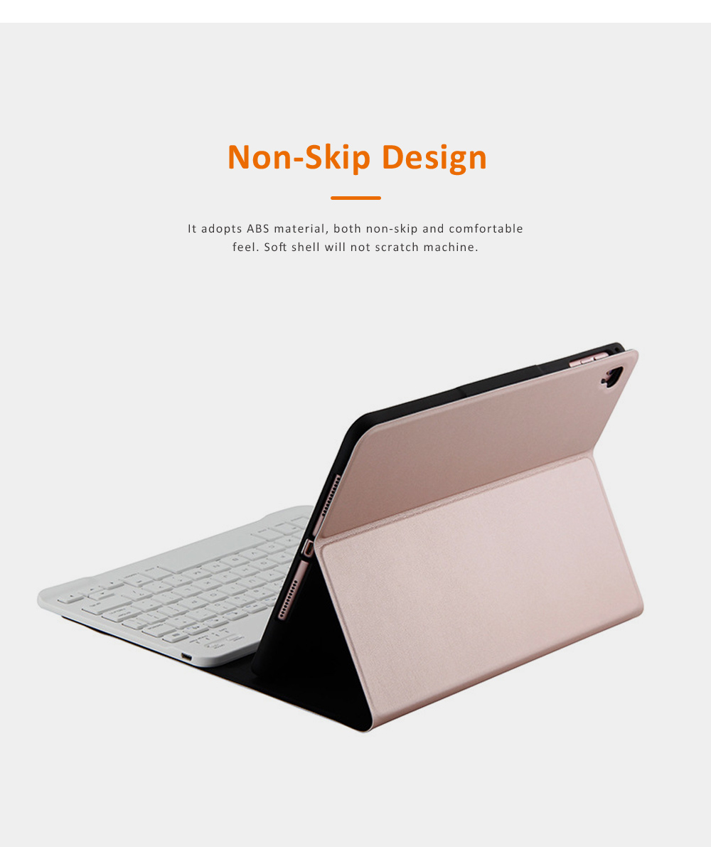 Smart Case with 3.0 Wireless Bluetooth Keyboard for iPad 9.7, Magnetic Leather Auto Sleep Awake Smart Case with Pencil Holder, Intelligent Sleep Protection Cover for Air 2 1, iPad Pro 9.7, ipad 9.7 2017 2