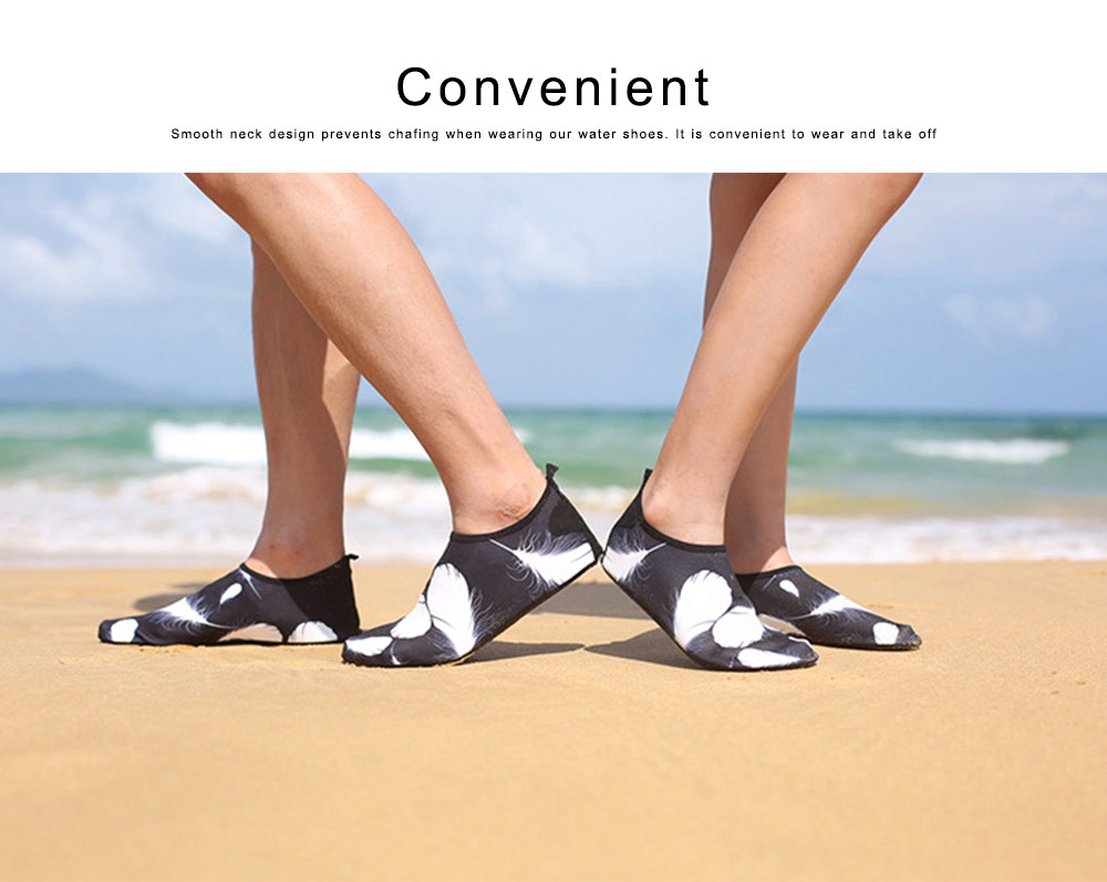 Snorkeling Shoes Breathable Slip-on Water Sport Shoes Aqua Socks for Men Women Beach Swim Surf Yoga 1