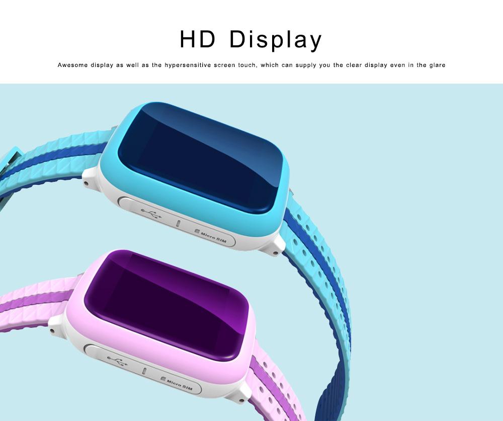 Children Teens Smart Watch, Waterproof GPS Smartwatch Phone with Phone Call, SOS, Remote Monitoring, Pedometer 3