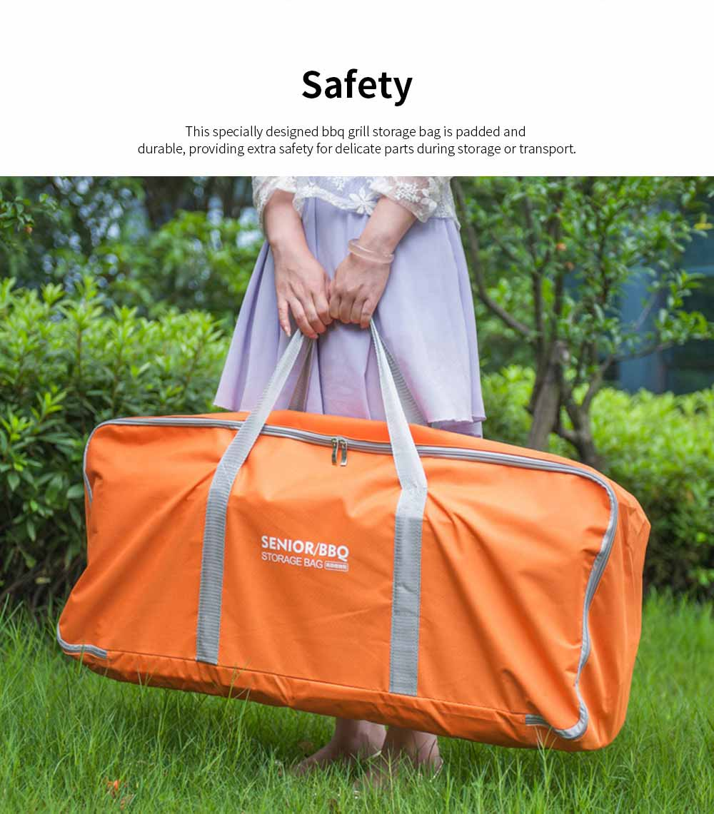 Outdoor Camping Tools Storage Bag Thicker Oxford Cloth Large Capacity Handbag Camping Site Portable Organizer 1