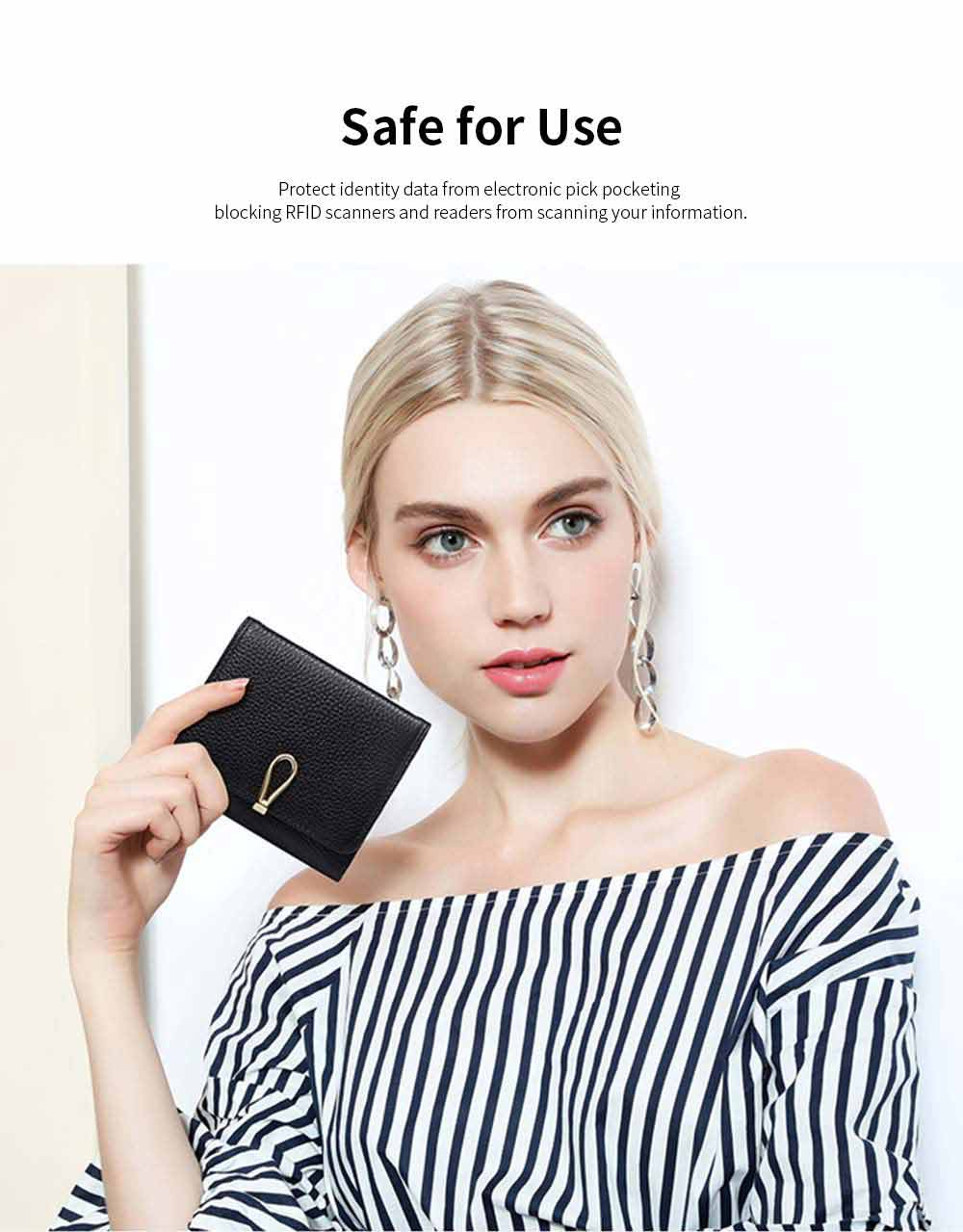 Premium Women Short Purse Multi-layer Cowhide Fashion Wallets Bifold Vintage Money Clip Gifts for Women Girl 4