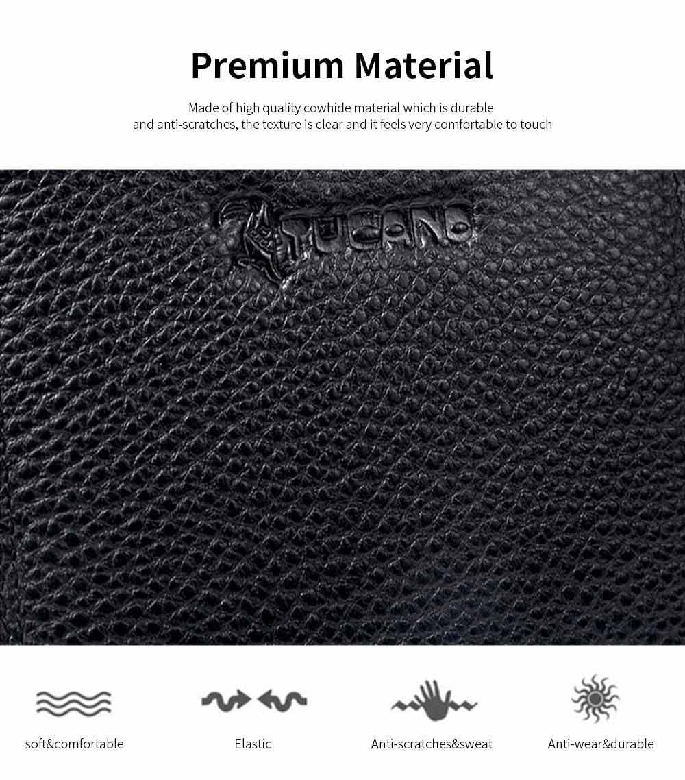 Premium Women Short Purse Multi-layer Cowhide Fashion Wallets Bifold Vintage Money Clip Gifts for Women Girl 3