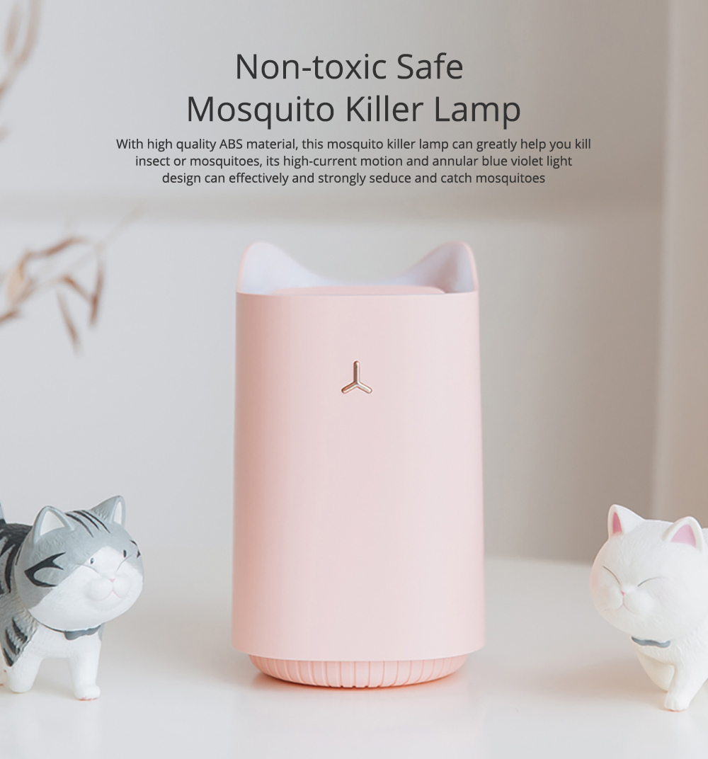 Non-toxic Safe Mosquito Killer Lamp Quite Strong Insect Killer for Bathroom Bedroom 0