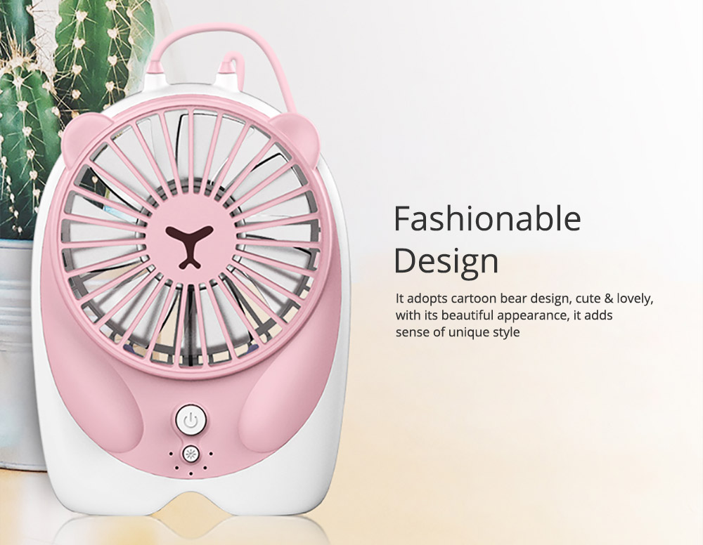 Mini Handheld Fan Chargeable Portable Personal Small Fan with USB Rechargeable  2