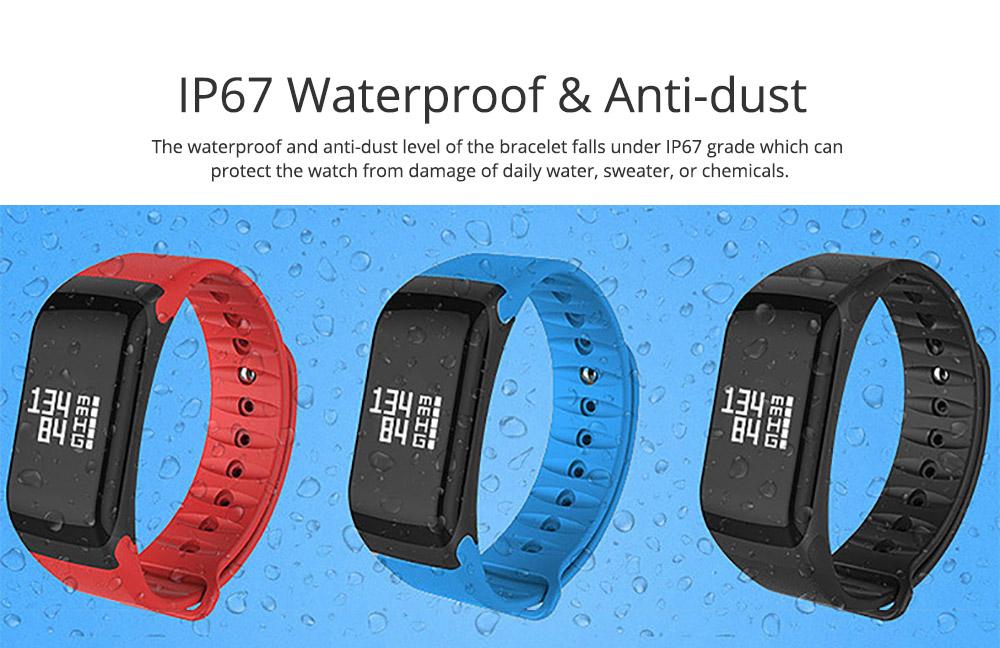 Electronic Watch for Men & Women, Smart Bracelet with Sleep Monitor Calorie Counter, Electronic Sport Bluetooth Bracelet Sportswear 5
