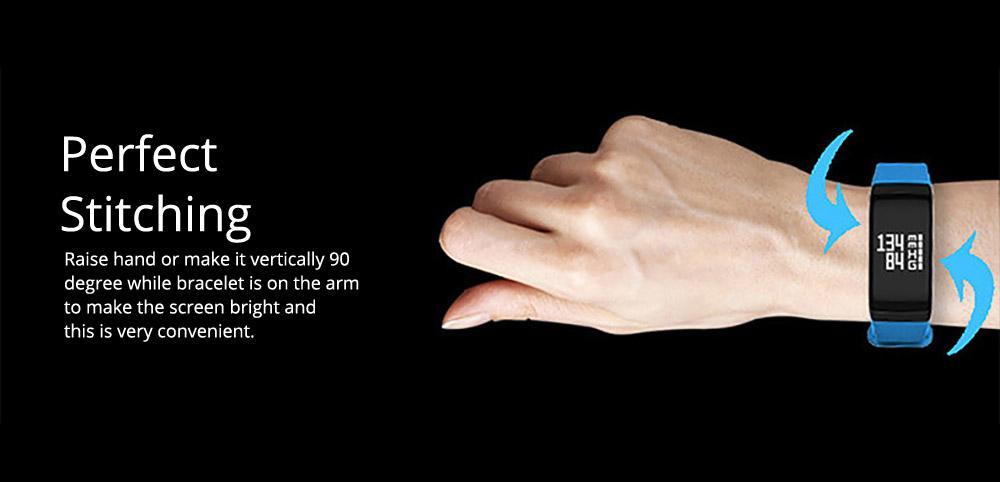 Electronic Watch for Men & Women, Smart Bracelet with Sleep Monitor Calorie Counter, Electronic Sport Bluetooth Bracelet Sportswear 6