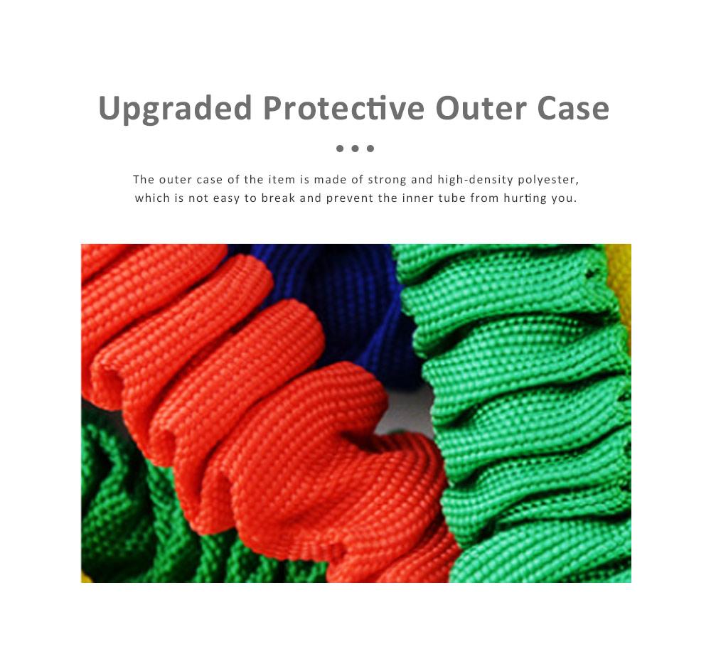 Multifunctional Safe Breaking-proof 11PCS Pull Rope Suit, Gym Yoga Training Exercising Elastic Resistance Band 3