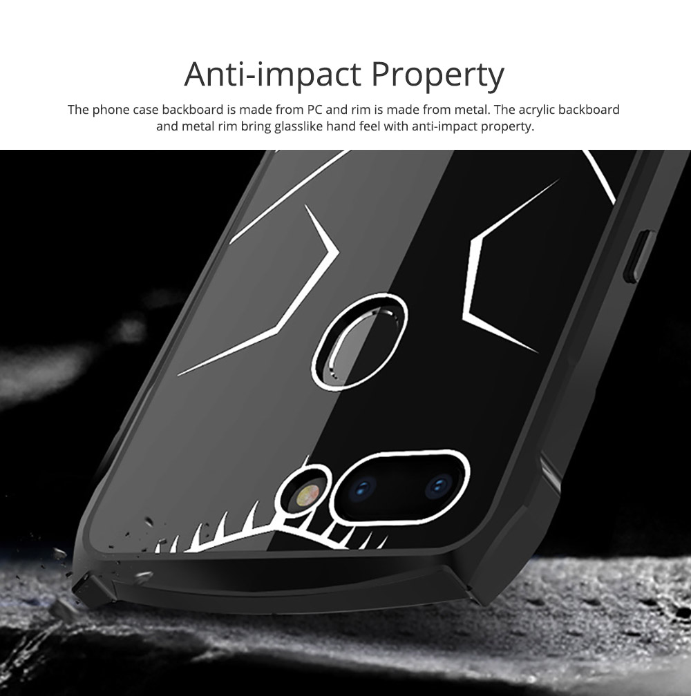 New-style Phone Case OPPO R15 Phone Cover Creative VIVO X21 Mobile Phone Protective Case PC Metal Phone Case Handset Accessories 1