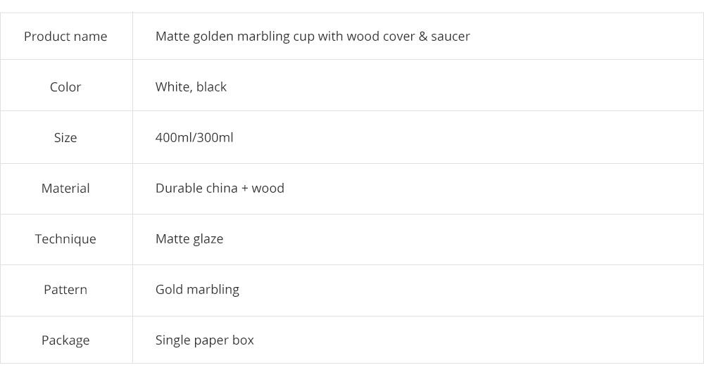 Gold Marbling Ceramic Cup Household Use Coffee Mug with Cover Saucer, Matt Golden Marbling Mug Breakfast Drinkware 8