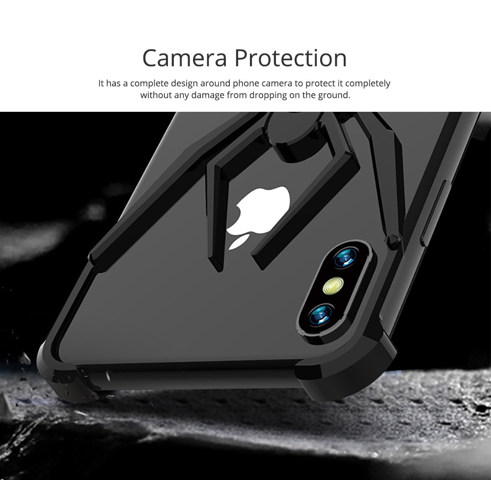 Spider Phone Case iPhone XR iPhone XS iPhone Max Phone Cover with Metal Rim iPhone Accessories Mobile Phone Skins 2