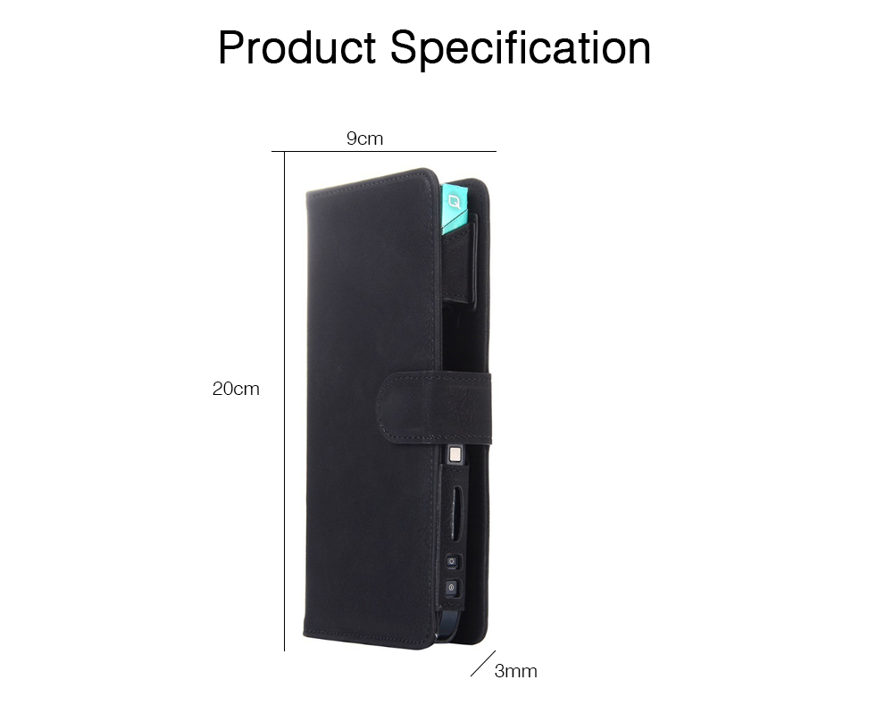 IQOS Electronic Cigarette Holder Case with Card Slot, Multi-Function IQOS3 Electronic Cigarette Protective Cover with Card Holder (Case Only) 5