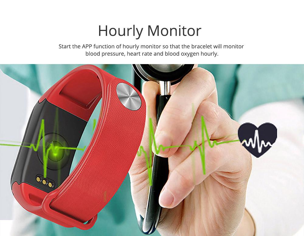 Electronic Watch for Men & Women, Smart Bracelet with Sleep Monitor Calorie Counter, Electronic Sport Bluetooth Bracelet Sportswear 3