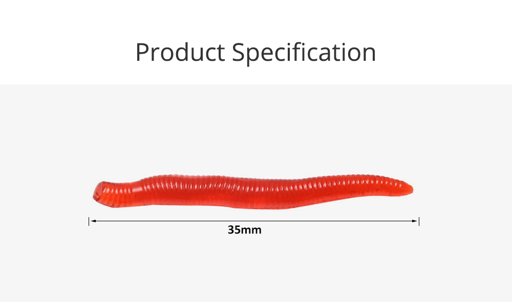 Bionic Earthworm Lure Fishing Bait for Outdoor Fishing Lure Fishing Soft Bait Fishy Smell Fishing Bait Soft Fishing Lure Fishy Soft Bait Fishing Gear 5