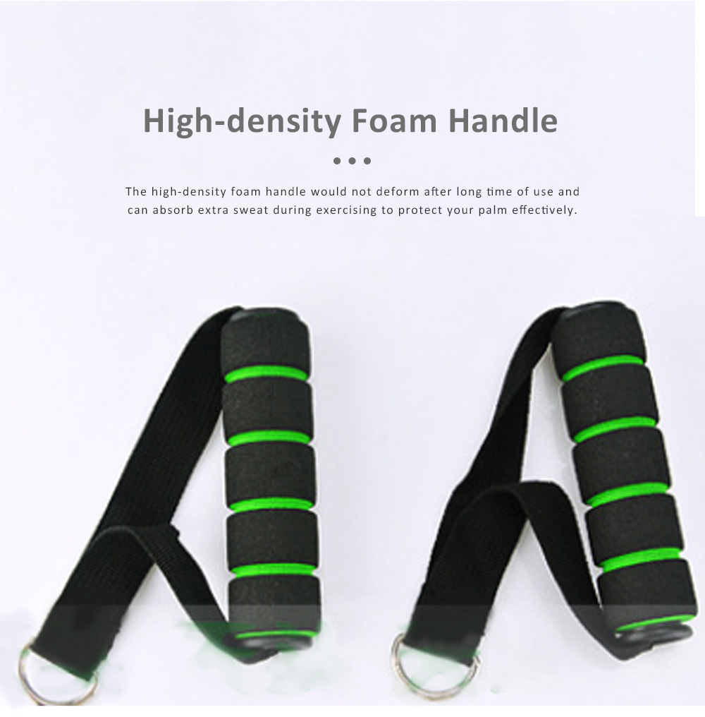 Multifunctional Safe Breaking-proof 11PCS Pull Rope Suit, Gym Yoga Training Exercising Elastic Resistance Band 4