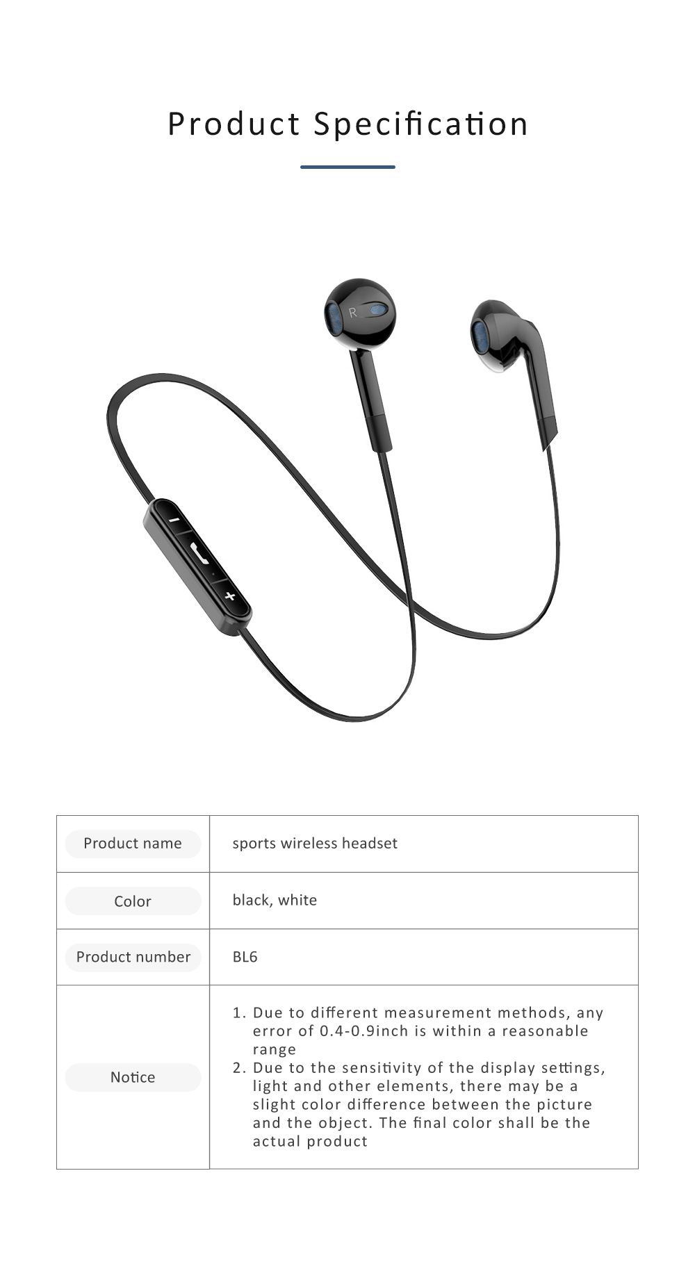 Wireless Sports Bluetooth Headset Android Subwoofer Universal Binaural In-ear Running Hanging Earplugs for iPhone Huawei Millet 7