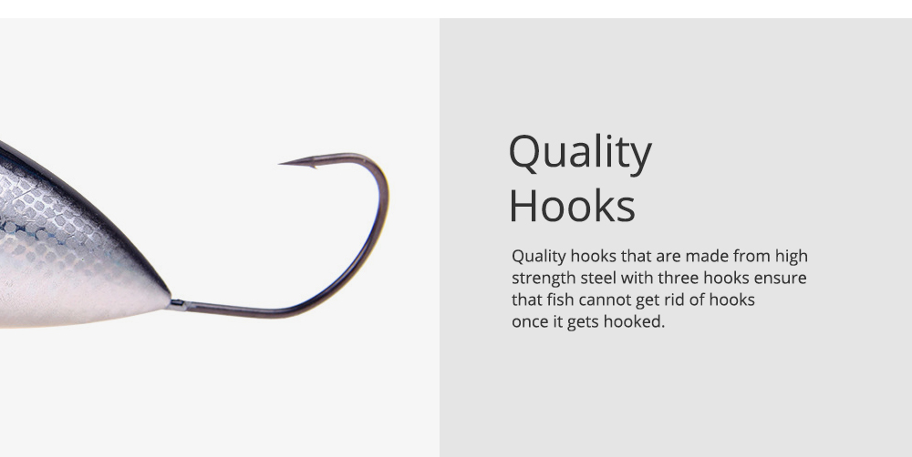 Lure Fishing Bait for Outdoor Fishing Lure Fishing Hard Bait Double Circle Mouth Single Hook Floating Fishing Bait Fishing Lure Fishing Hook Fishing Gear 4